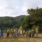 Jizai 稲刈り集合写真
